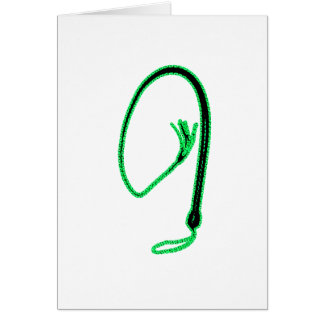 GREEN WHIP GREETING CARDS