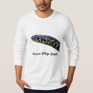 Green Whip Snake American Apparel Long Sleeve T-Shirt