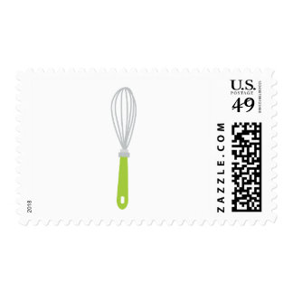 Green Whisk | Cooking Postage Stamp