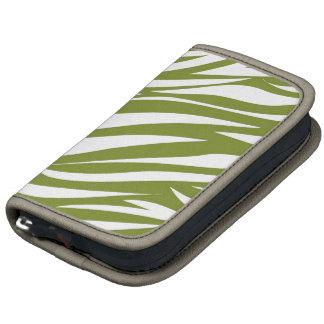 Green White Animal Stripe Pattern 2 AS Organizers