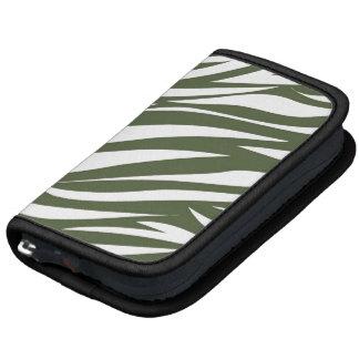 Green White Animal Stripe Pattern AS Organizer