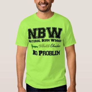 Green,White, Checker T-Shirt