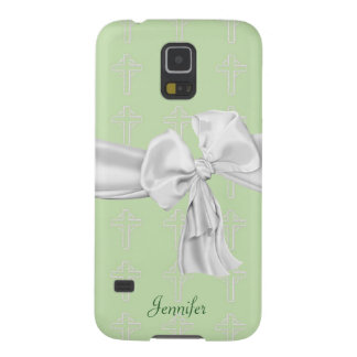 Green & White Christian Samsung Galaxy S5 Case