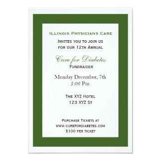 green white classy Corporate party Invitation