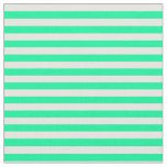 [ Thumbnail: Green & White Colored Pattern Fabric ]