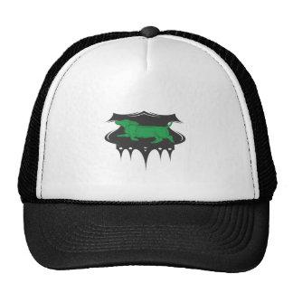 Green Wiener Mesh Hat