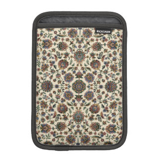 Green Wildflowers Tapestry spiral frame Sleeve For iPad Mini