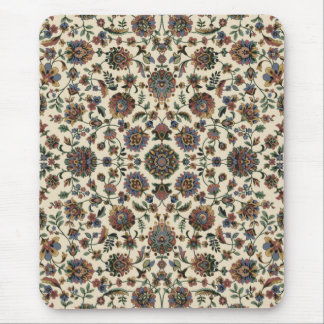 Green Wildflowers Tapestry spiral frame Mouse Pad