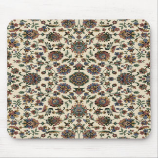 Green Wildflowers Tapestry spiral frame Mousepad