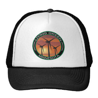 Green Wind Minnesota Mesh Hats