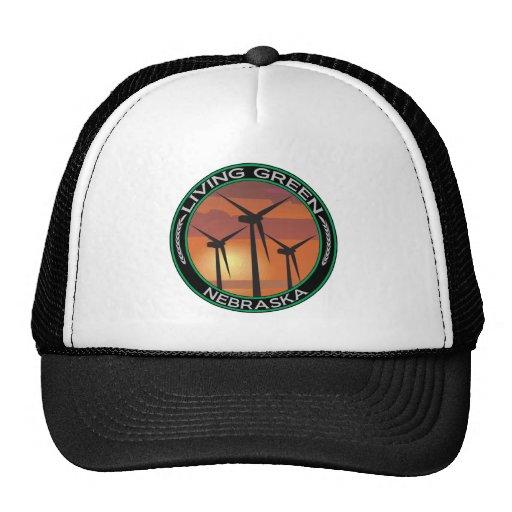 Green Wind Nebraska Trucker Hat