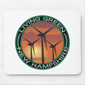 Green Wind New Hampshire Mouse Pad