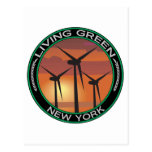 Green Wind New York Post Card