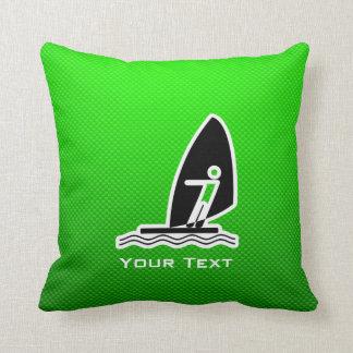 Green Windsurfing Pillows