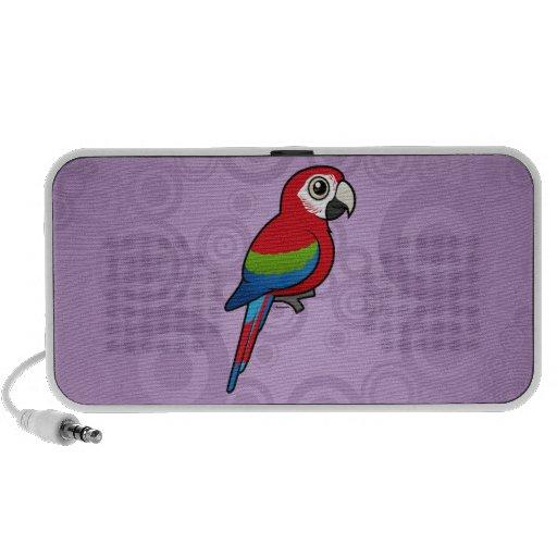Green-winged Macaw Travel Speaker