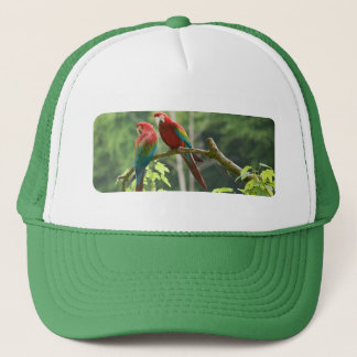 Green-winged Macaws Trucker Hat