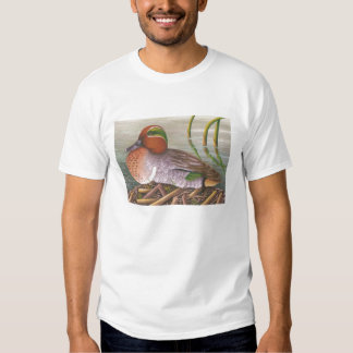 green winged teal t shirt