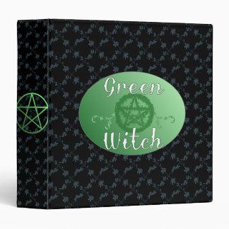 Green Witch binder