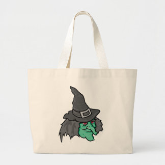Green Witch Canvas Bags