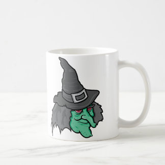 Green Witch Classic White Coffee Mug