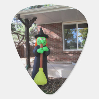 Green Witch Guitar Pick