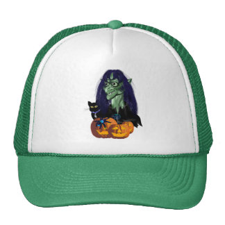 Green Witch Hats