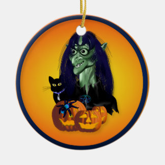Green Witch  Ornament