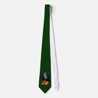 Green Witch Tie