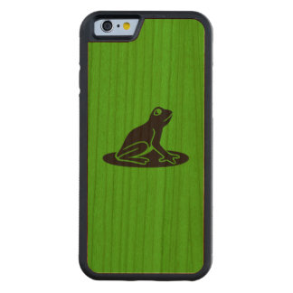Green with black frog Bumper Cherry Cherry iPhone 6 Bumper Case
