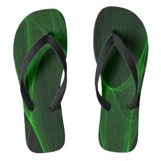 Green with Envy Flip Flops