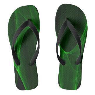 Green with Envy Flip Flops