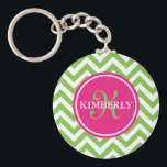 "Green with Envy Keychain<br><div class=""desc"">Preppy and fun keychain!</div>"