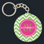 """Green with Envy Keychain<br><div class=""""desc"""">Preppy and fun keychain!</div>"""