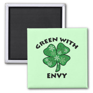green with envy magnet