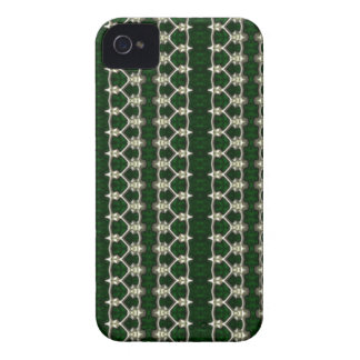 Green With Silver Trim Blackberry case