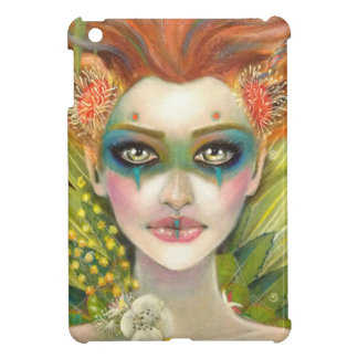 Green Woman iPad Mini Cases