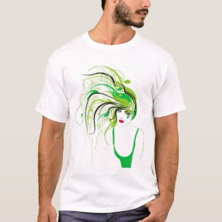 green wonder illustration T-Shirt
