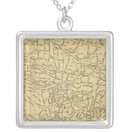 Green Wood Cemetery Silver Plated Necklace
