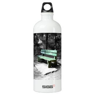 Green Wooden Bench 2 SIGG Traveler 1.0L Water Bottle