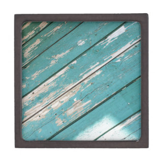 Green wooden boards diagonal image jewelry box