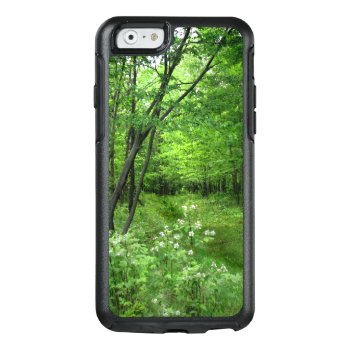Green Woods Nature Hike Otterbox Iphone 6/6s Case by Bebops at Zazzle