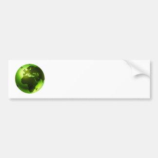 Green World Bumper Stickers