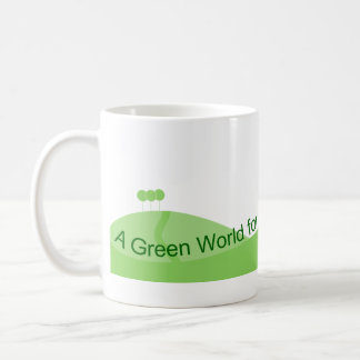 Green World Coffee Mug