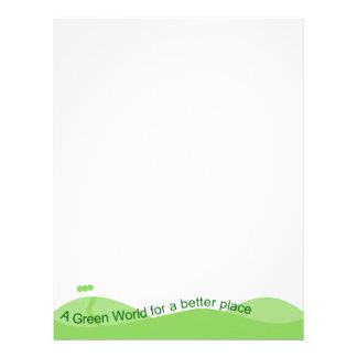 Green World Letterhead