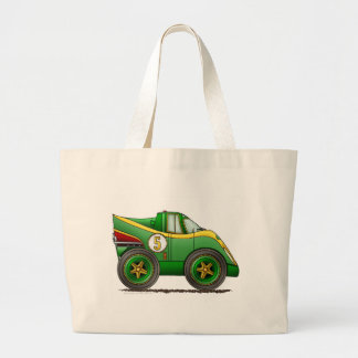 Green World Manufactures Championship Car Bags/Tot Large Tote Bag