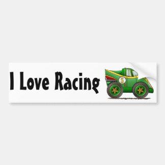 Green World Manufactures Championship Car Bumper S Bumper Sticker