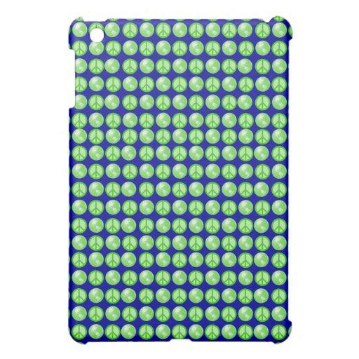 Green World Peace iPad Mini Covers