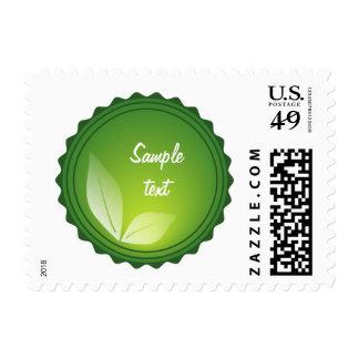 Green World Postage Stamp
