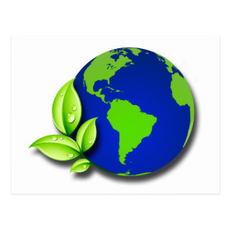 GREEN WORLD POSTCARD