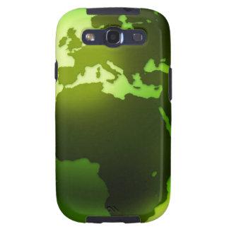 Green World  Samsung Galaxy Case Samsung Galaxy SIII Case